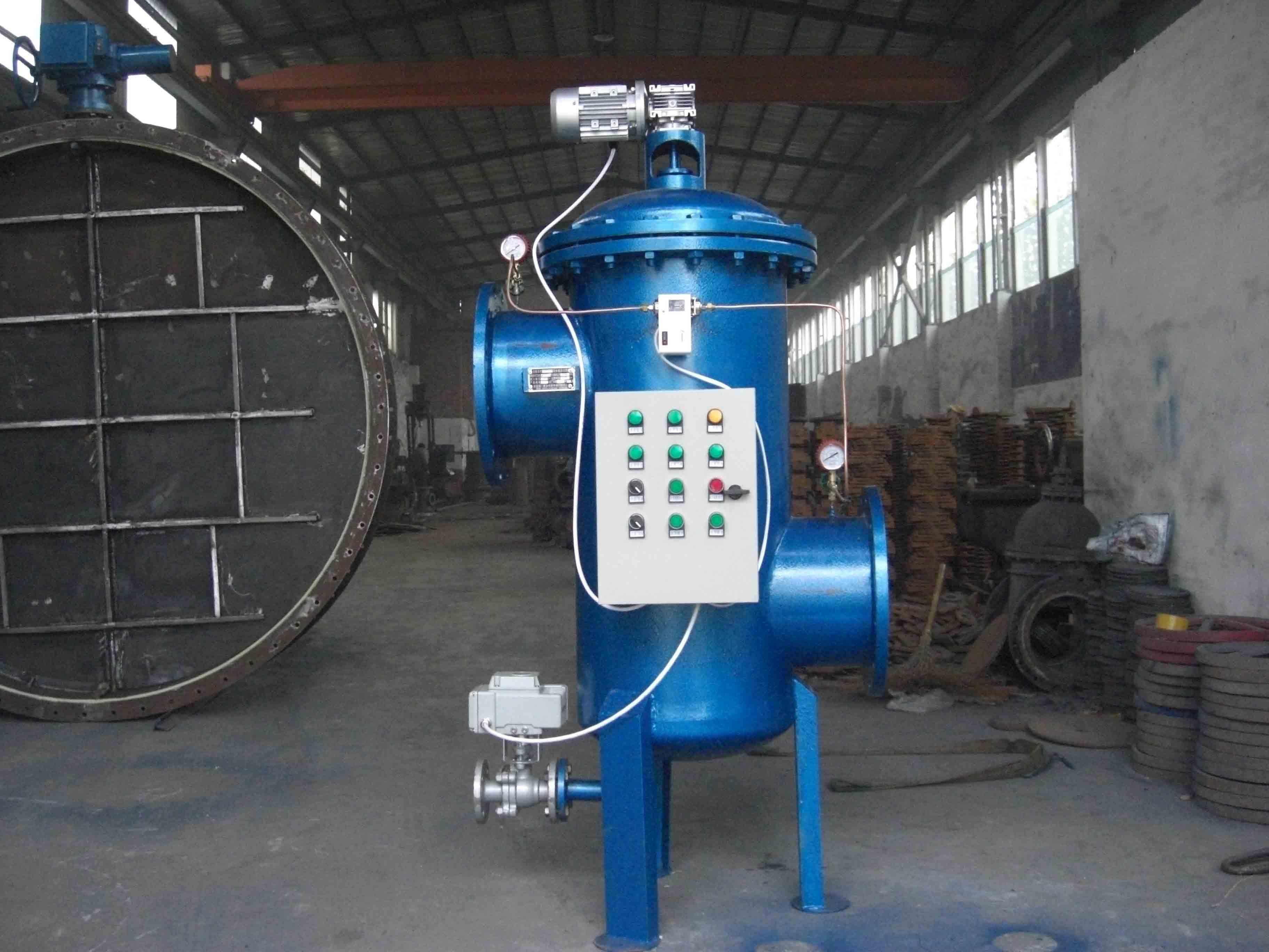 钢厂锅炉循环水自清洗过滤器